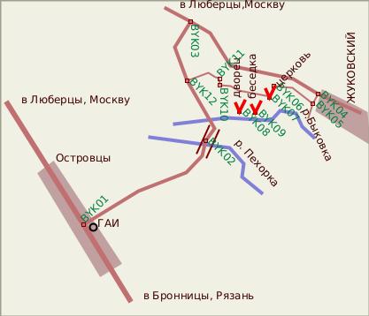 поперечного проезда).